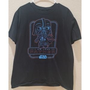 Pop Tees Darth Vader I Am Your Father  Shirt XL